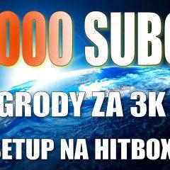 10K Subów! Podziękowania – info o konkursie z nagrodami o wartości 3K zł! Mój Setu przenosi się od najbliższej soboty na Hitboxa.