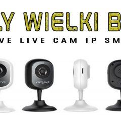 Domowy monitoring w 30 sekund – Creative LiveCam IP SmartHD – test i recenzja
