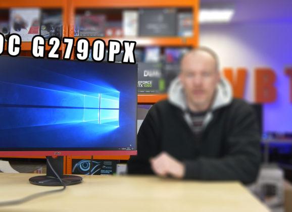 AOC G2790PX – nowy 144Hz monitor dla graczy – TEST