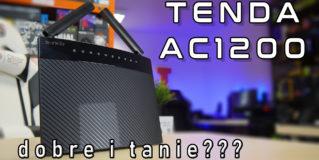 TENDA AC9 1200 niedrogi i dobry router WiFi AC – TEST