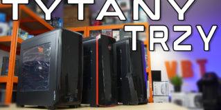 Natec Genesis Titan 700 | 750 | 800 – recenzja trzech tanich obudów ATX
