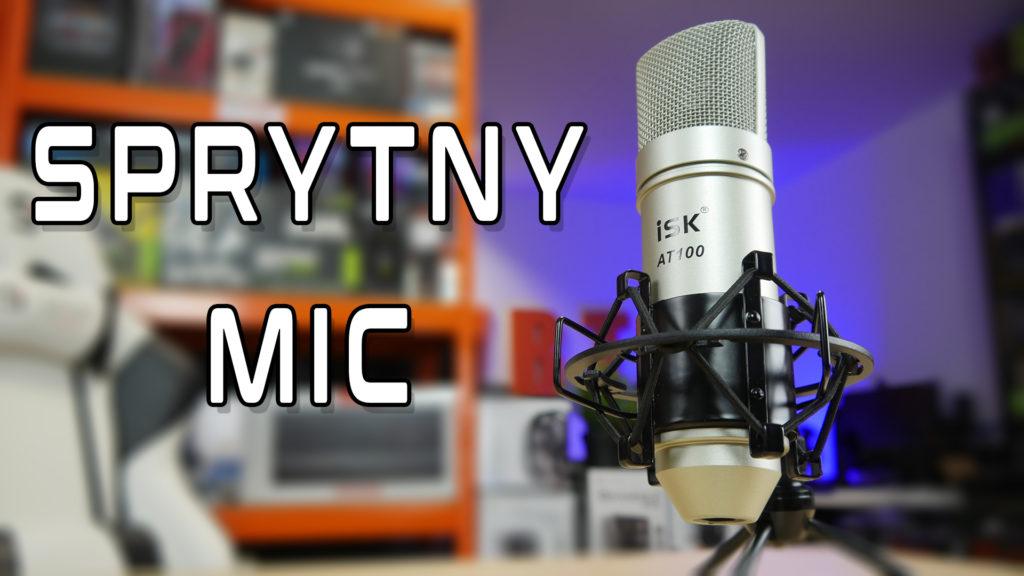 TEST mikrofon usb ISK AT100 z koszykiem jakość opinie cena sklep wykonanie czy warto VBT VBTPC Video Blog Tech