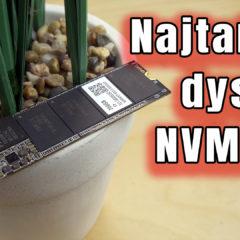 Dysk NVMe Lite-On MU-X 256GB – test i recenzja taniego nośnika 3D NAND