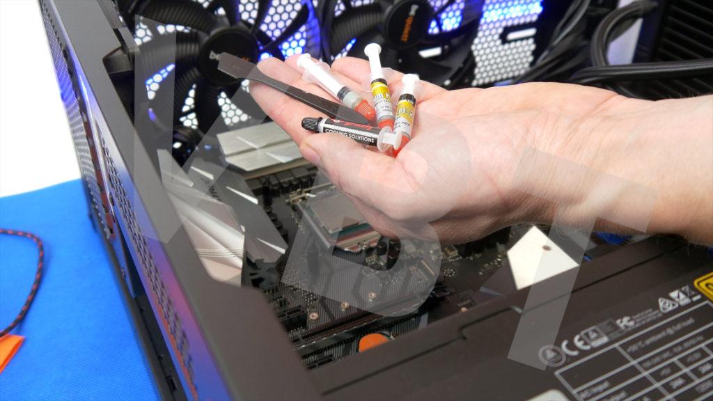 Film z serwisu komputera jednego z Widzów. Zmiana chłodzenia na cpu na AiO, montaż dysków m.2 i hdd oraz skalpowanie procesora i podkręcanie go, jak też pamięci ram. #serwis #warsztat #aio #ssd #hdd #oc #skalpowanie #ocram #podkręcanie #vbt #vbtpc #videoblogtech