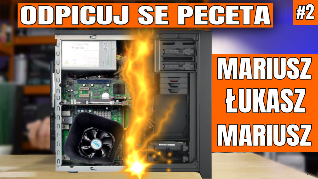 Odpicuj Se PeCeta - poradnik modernizacji komputerów Widzów ponownie będzie ukazywał się cyklicznie!. Zapraszam na drugi odcinek z poradą dla Łukasza i dwóch Mariuszów - co kupić, co wymienić, jak zmodernizować swój komputer aby osiągnąć najlepsze wyniki w założonym budżecie. #osp #odpicujSePeceta #VBT #VideoBlogTech #poradnik #modernizacjaPC #komputer