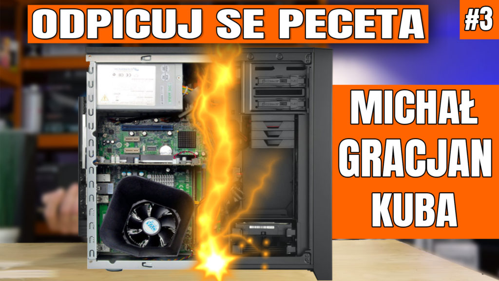 Odpicuj Se PeCeta - poradnik modernizacji komputerów Widzów ponownie będzie ukazywał się cyklicznie!. Zapraszam na trzeci odcinek z poradą dla Michała, Gracjana i Jakuba - co kupić, co wymienić, jak zmodernizować swój komputer aby osiągnąć najlepsze wyniki w założonym budżecie. #osp #odpicujSePeceta #VBT #VideoBlogTech #poradnik #modernizacjaPC #komputer