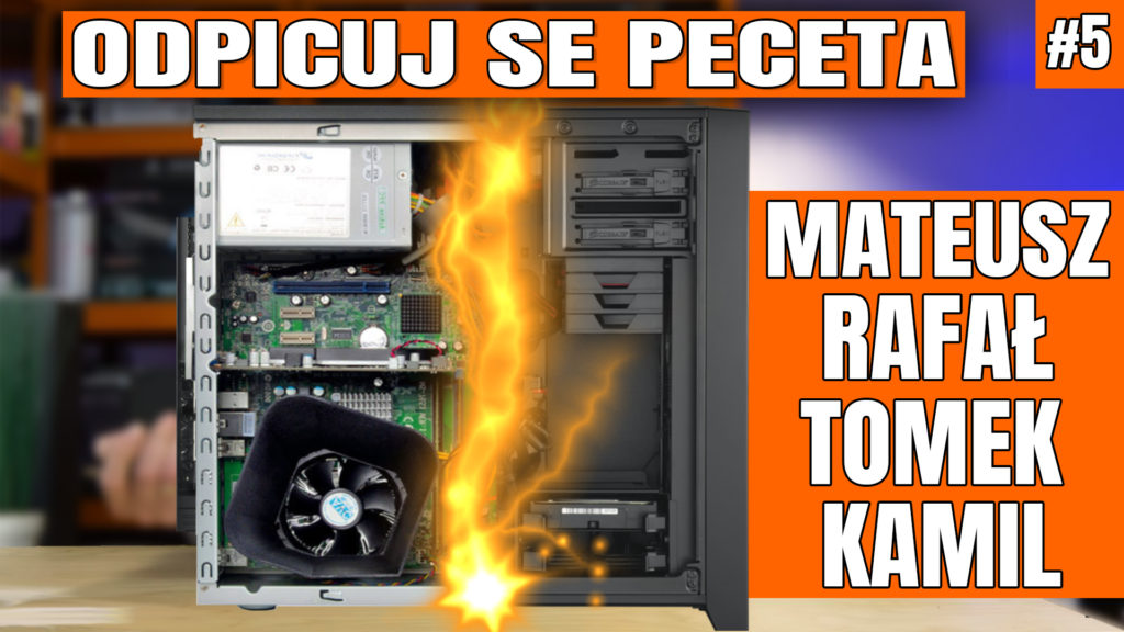 Odpicuj Se PeCeta - poradnik modernizacji komputerów Widzów ponownie będzie ukazywał się cyklicznie!. Zapraszam na piąty odcinek z poradą dla Mateusza, Rafała, Tomka ii Kamila - co kupić, co wymienić, jak zmodernizować swój komputer aby osiągnąć najlepsze wyniki w założonym budżecie. Plus dodatkowy bonus - jak nie wysyłać zapytań do OSP. #osp #odpicujSePeceta #VBT #VideoBlogTech #poradnik #modernizacjaPC #komputer #cenyCPU