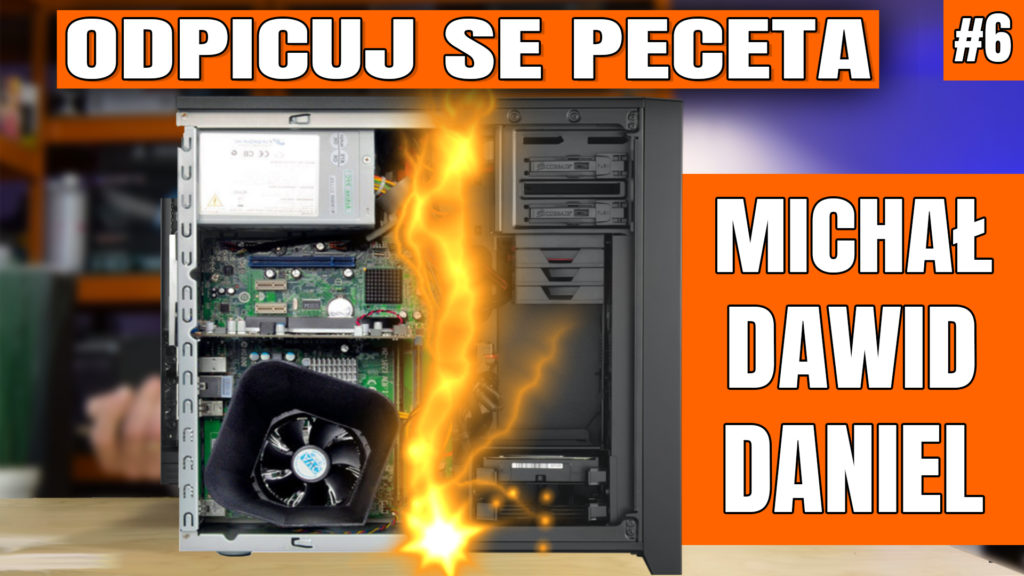 Odpicuj Se PeCeta - poradnik modernizacji komputerów Widzów. Zapraszam na szósty odcinek z poradą dla Michała, Dawida i Daniela - co kupić, co wymienić, jak zmodernizować swój komputer aby osiągnąć najlepsze wyniki w założonym budżecie. #osp #odpicujSePeceta #VBT #VideoBlogTech #poradnik #modernizacjaPC #komputer