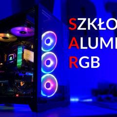 Szkło   Aluminium   RGB – czyli komputer dla Tomka w Lian Li Dynamic PC-O11