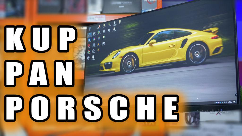 Ilu z Was siedziało w Porsche albo ma Porsche w garażu? Ja też nie mam, choć podobają mi się. Ale teraz mamy okazję mieć takie jedno  a dodatkowo nie w garażu, ani na podjeździe a na naszym biurku :) Dla firmy AOC, studio projektowe F A Porsche zaprojektowało monitor o nazwie  AOC Porsche Design Q27T1, na którego test i recenzje serdecznie Was zapraszam. #AOC #Q27T1 #PorscheDesign #monitor #IPS #test #recenzja #vbt #videoblogtech #vbtpc #xkom