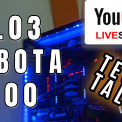 Live! – Tech Talk – 28.03 – Sobota – 21:00