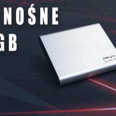 PNY Pro Elite 500GB – mały poręczny dysk ssd który zabierzesz ze sobą.