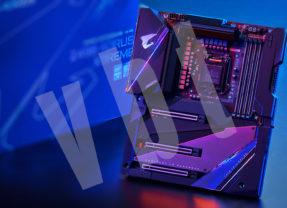 Aorus Z490 XTREME w treście z procesorem Intel i9-10900K – również po OC