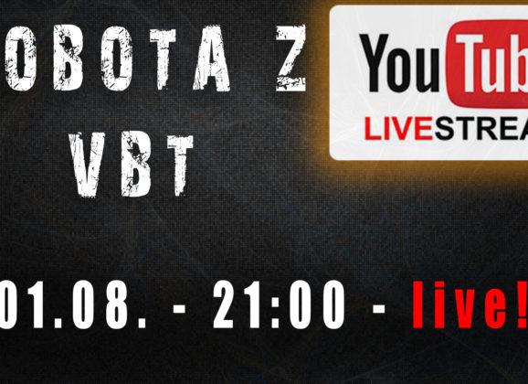 Sobota z VBT – Q&A – 01.08.2020