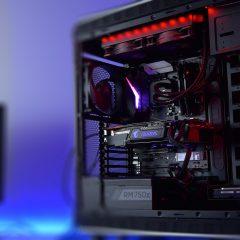 Mocny pc do gier  z oskalpowanym procesorem – montaż i budowa – timelapse