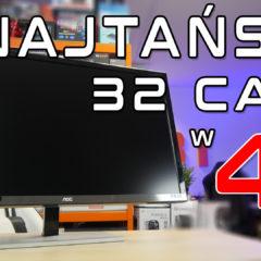 AOC U3277FWQ test najtańszego monitora 32cale w 4K
