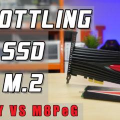 Throttling dysku ssd – czyli dlaczego dysk NVMe na karcie PCI jest lepszy od wersji M.2