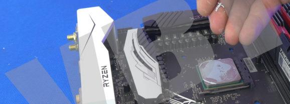 Modernizacja komputera Widza i kilka słów o glucie na Ryzenie