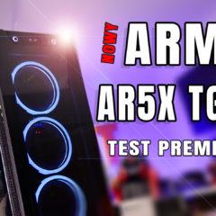 SilentiumPc Armis AR5X TG RGB – premiera nowych obudów od SPC