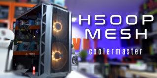 Dobra wentylacja i ciekawy design – CoolerMaster H500P Mesh – test obudowy