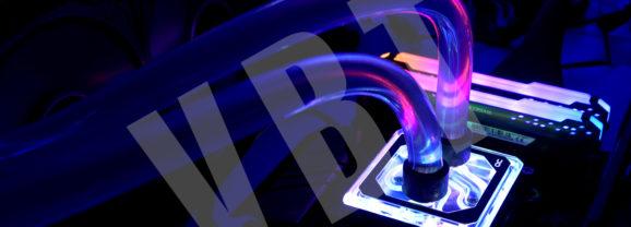 Alphacool XPX Aurora Edge Plexi Digital RGB – test bloku do customa.