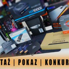Szaki PC +  Guard Desk Elastic + Konkurs = triathlon