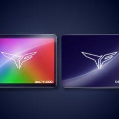 TForce Delta Max  – dysk ssd z pełnym podświetleniem aRGB
