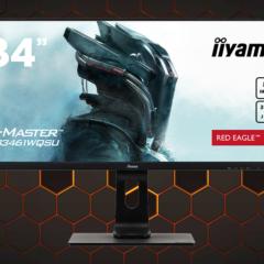 iiyama GMaster GB3461WQSU Red Eagle – gaming na IPS i 144Hz