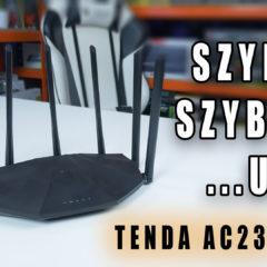 Tenda AC23 – tani i szybki router ale….
