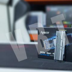 Apacer PCIe Gen 4×4 – superszybki dysk ssd…szybciej niż w nowych konsolach?