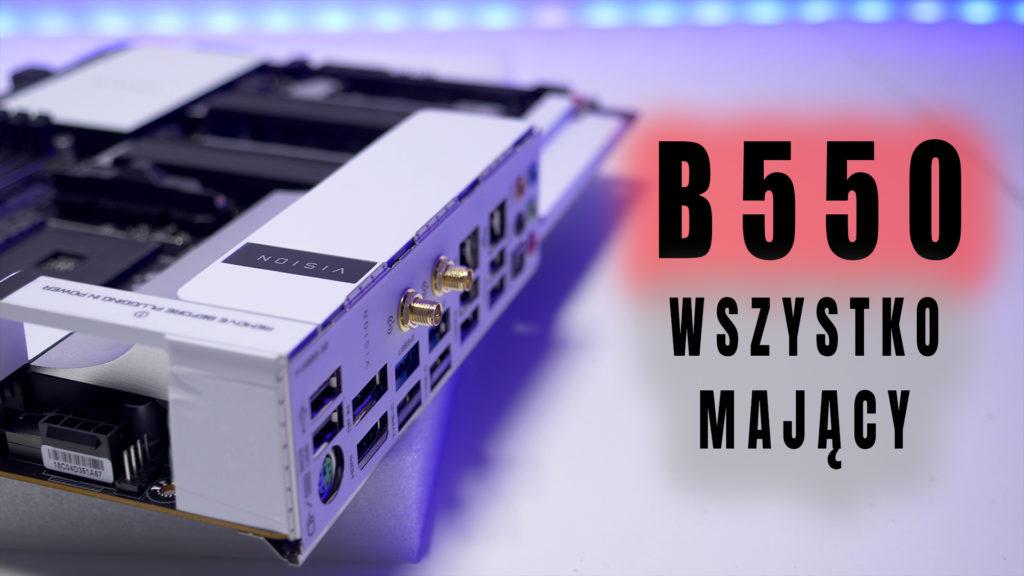 Najbardziej chyba wypasiona płyta na rynku na chipsecie B550 - Gigabyte B550 Vison D, mająca na sobie prawie wszystko. I chyba jedyna na rynku z prawdziwym Thunderbolt 3 wspierającym wyświetlanie obrazu do rozdzielczości 5K. Płyta dla twórców... designerów... Test i recenzja tego mobasa. Zapraszam. #Gigabyte #B550 #VisionD #test #recenzja #temperatury #sekcja #oc #xkom #vbt #videoblogtech