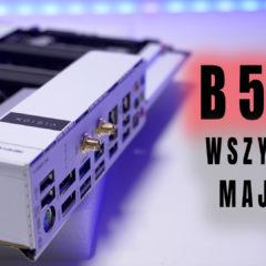 Gigabyte B550 VISION D  – płyta z Thunderbolt 3