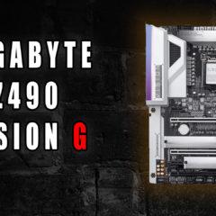 Z490 Vision G – płyta ze świetną sekcją zasilania.