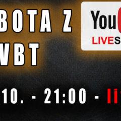 Sobota z VBT – Q&A – 03.10.2020 od 21:00