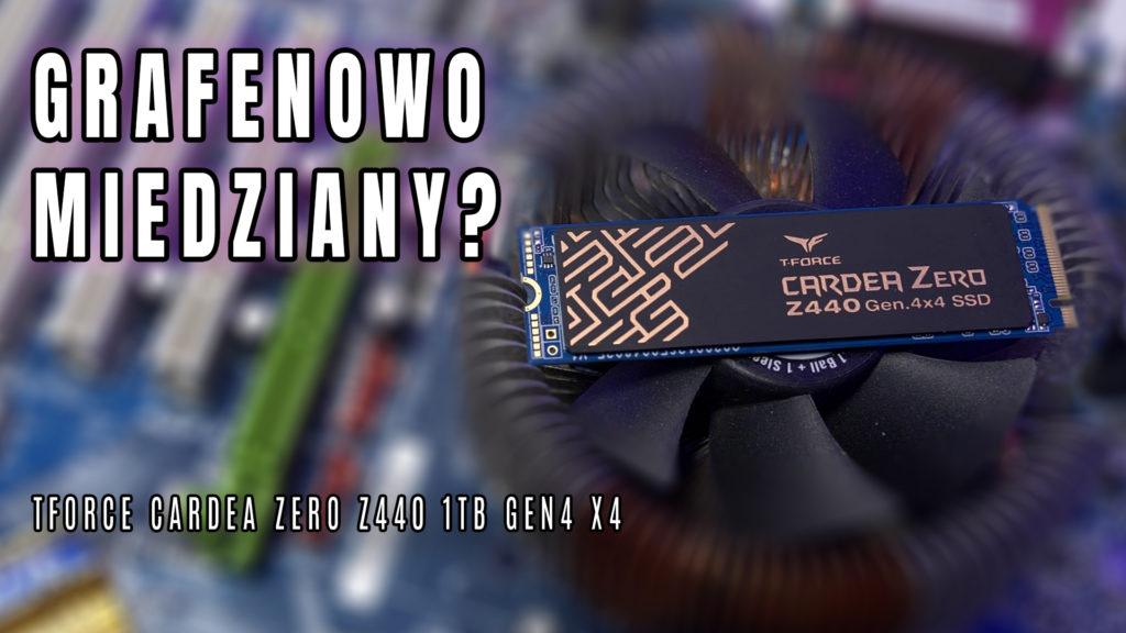 Kolejny dysk Gen4 x4 pojawił się na naszym rynku i do tego najdroższy z tych dostępnych. Pytanie czy jest coś, co uzasadnia tą wysoką cenę? Może grafenowo miedziany radiator? Sprawdźcie. Team Group TForce Cardea Zero Z440 1TB w praktyce. #TForce #cardea #z440 #gen4x4 #ssd #nvme #test #recenzja #czyWarto #vbt #videoblogtech