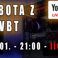 Sobota z VBT – Live! + Q&A – 16.01 od 21:00