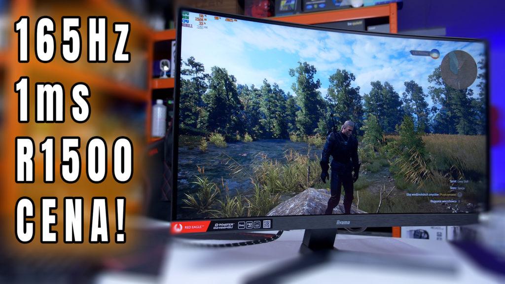 IIyama Red Eagle G2466 - szybki dobry i tani monitor dla gracza- test
