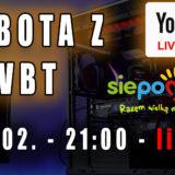 Sobota z VBT – Live! + Q&A – zbiórka charytatywna na serce dla Ingi – 20.02 od 21:00