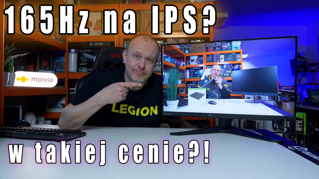 Gamingowy 27 calowy monitor G27q-20 od firmy Lenovo... Tak i do tego posiadający bardzo dobre parametry. Ale jak zawsze trzeba to zweryfikować, czy w praktyce jest tak jak obiecuje producent i czy nie ma niemiłych niespodzianek.   #lenovo #g27q20 #test #monitor #gamingowy #ips #165Hz #gsync #freeSync #vbt #videoblogtech #morele