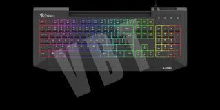 Genesis Lith 400 RGB – niska i nożycowa a do tego gamingowa – test membranowej klawiatury dla graczy