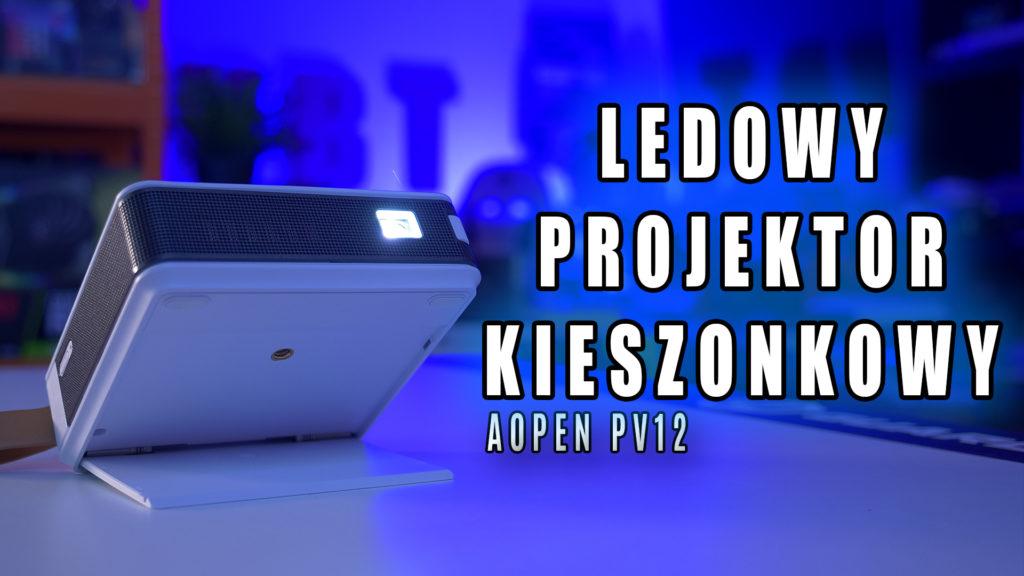 Mini projektor AOPEN PV12- który zmieści się do kieszeni, jego źródło światła to 700 LED i podłączysz go praktycznie do każdego urządzenia na różne sposoby ( sokowirówka odpada niestety ). Test piko projektora - rzutnika Aopen PV12.   #Aopen #PV12 #Acer #projektor #rzutnik #pico #mini #test #recenzja #cena #morele #vbt #vbtpc #videoblogtech