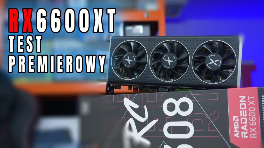 I jest! Nowa karta AMD Radeon RX6600XT doczekała się swojej premiery, wiec zapraszam na jej również premierowy test wydajności, oc oraz jej omówienie. #RX6600XT #Radeon #AMD #gpu #RDNA2 #test #vbt #morele #videoblogtech #XFX