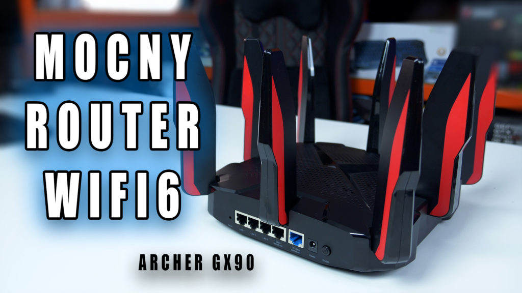 Jest mocny, ma rozbudowany soft i możliwości, jest szybki i nie ma RGB.. taki jest nowy Router TP-Link Archer GX90 AX6600 na którego test serdecznie Was zapraszam.  #archer #gx90 #test #router #wydajnosc #wifi6 #5ghz #mumimo #gamingowy #vbt #videoblogtech #moreleNET