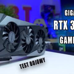 Gigabyte RTX 3070Ti  GAMING OC – test, recenzja, oc
