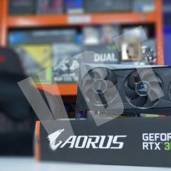 Aorus RTX 3060 Elite – cicha, chłodna, wydajna karta dla graczy.