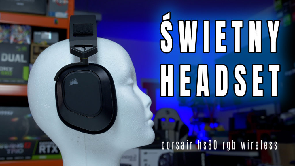 Nowość ze stajni Corsair - najnowszy bezprzewodowy headset HS80 RGB Wireless - słuchawki w których skupiono się na jakości a nie RGB i bajerach. Sprzęt, który sprawdzi się nie tylko w grach ale również bardzo dobrze w muzyce i filmach.  #Corsair #HS80 #test #recenzja #słuchawki #headset #jakość #mikrofon# vbt #videoblogtech #morele