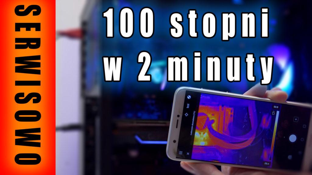 Dzisiaj w serwisowym odcinku, problem z komputerem, którego procesor rozgrzewa się do 100 stopni Celsjusza w dwie minuty.  #serwis #naprawa #pc #temperatury #diagnoza #vbt #vbtpc #videoblogtech #morele