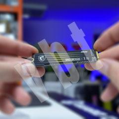 MSI Spatium M480 1TB Gen4 – rewelacyjnie szybki dysk NVMe – test