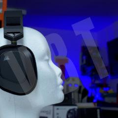 Corsair HS80 RGB Wireless – test słuchawek bezprzewodowych